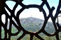 Monte azucar do de da bandeja, Piriapolis fotografia de stock
