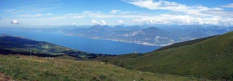 Monte Baldo, луг стоковая фотография rf
