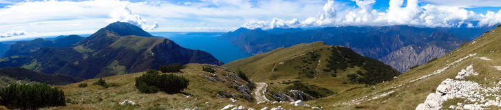 Monte Baldo Zdjęcie Stock