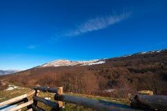 Monte Baldo near Garda Lake Italy Stock Image