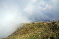 Monte Baldo szczyt obrazy stock
