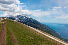 Monte Baldo Royalty Free Stock Photo