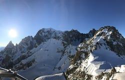 Monte Bianco Fotografia de Stock