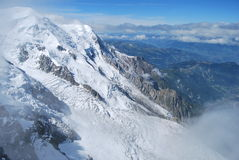 Monte Bianco Mont Blanc Royaltyfria Bilder