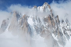 Monte bianco mont blanc Royalty Free Stock Images