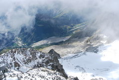 Monte bianco mont blanc Royalty Free Stock Photo