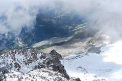 Monte Bianco o Monte Branco Foto de Stock Royalty Free