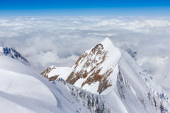 Monte Bianco region Stock Photos