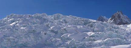Monte  Bianco's Glacier Landscape Royalty Free Stock Photo