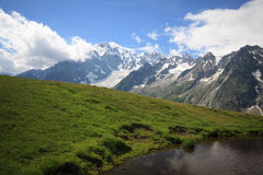 Monte Blanc Royalty Free Stock Images