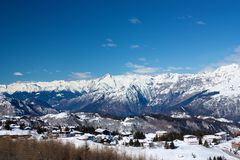 Monte Bondone το χειμώνα Στοκ φωτογραφία με δικαίωμα ελεύθερης χρήσης
