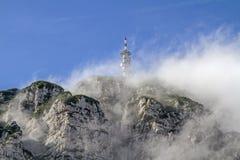 Monte Bondone in Trentino Stockbild