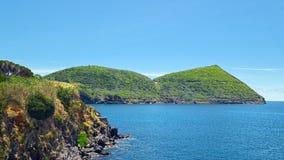 Monte Brasil-Berg, Terceira-Insel, Azoren Lizenzfreie Stockfotografie