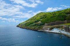 Monte Brasil-Berg, Terceira-Insel, Azoren Stockfotos