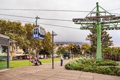 Monte cable car Royalty Free Stock Image