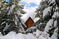 Monte Caio Winter foto de stock royalty free