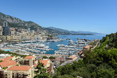 Monte - carlo Монако стоковое изображение