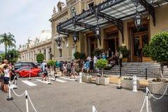 MONTE CARLO - 15 août 2017 : Le casino de Monte Carlo January 31, 2009 en Monte Carlo Il accueille l'Européen annuel Photographie stock libre de droits
