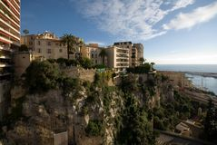 Monte Carlo Apartment Buildings Royalty Free Stock Images