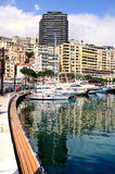 Monte Carlo Bay Foto de archivo libre de regalías