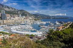 Monte Carlo Bay Royalty Free Stock Photos