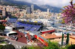 Monte Carlo bay. Stock Photo