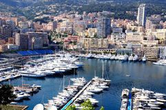 Monte Carlo bay. Royalty Free Stock Photography