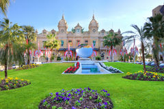 Monte Carlo Casino. Stock Images