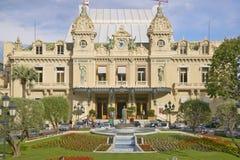 Monte Carlo Casino, construido por Charles Garnier en 1878 fotografía de archivo libre de regalías