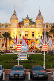 Monte Carlo casino at dusk Royalty Free Stock Photography