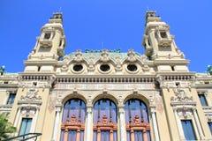 Monte Carlo Casino e Opera, Mônaco Fotografia de Stock