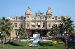 Monte Carlo Casino. The famous casino of Monte Carlo, Monaco Royalty Free Stock Photography