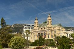 Monte Carlo Casino, Monaco royalty-vrije stock afbeeldingen