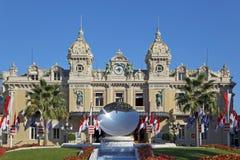 Monte Carlo Casino in Monaco. Front of the Grand Casino in Monte Carlo, Monaco royalty free stock photography