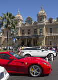 Monte Carlo Casino - Monaco royalty free stock photography