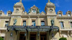 Monte Carlo Casino. Monaco. Stock Photos