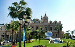 The Monte Carlo Casino Royalty Free Stock Image