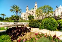 Monte Carlo Casino and Opera House Royalty Free Stock Photos