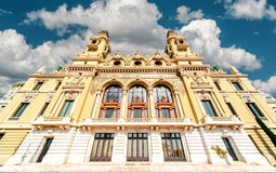 Monte-Carlo Casino and Opera House Royalty Free Stock Photos