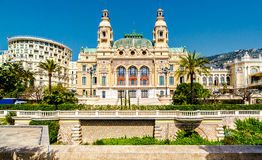 Monte-Carlo Casino and Opera House Stock Images