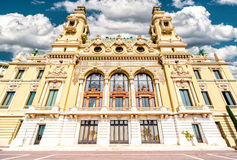 Monte-Carlo Casino and Opera House Royalty Free Stock Image