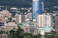 Monte Carlo Casino, ville du Monaco Photos libres de droits