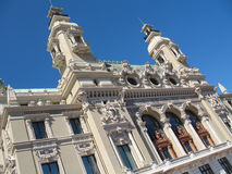 Monte-Carlo : Charles Garnier's opera house royalty free stock photos