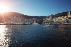 Monte Carlo city panorama Royalty Free Stock Image