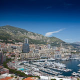 Monte Carlo city panorama. Royalty Free Stock Photography