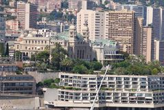 Monte-Carlo, city, urban area, metropolitan area, skyline. Monte-Carlo is city, skyline and tower block. That marvel has urban area, cityscape and downtown and stock images