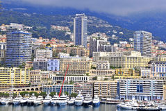 Monte Carlo cityscape Royalty Free Stock Images