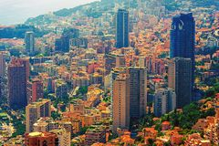 Monte Carlo Cityscape Royalty Free Stock Photography