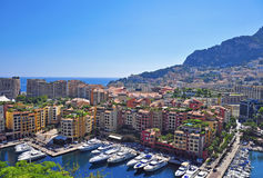 Monte-Carlo cityscape Royalty Free Stock Photo