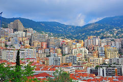 Monte-Carlo cityscape Royalty Free Stock Photos